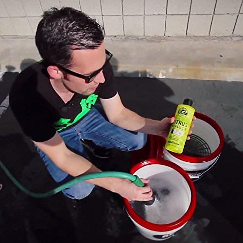 Chemical Guys Citrus Wash and Gloss Autoshampoo mit Glanzverstärkern 473ml - 4