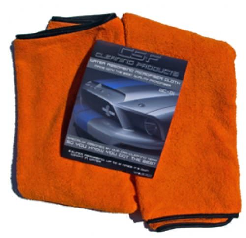 DELIRIUM DC-01 Orange Drying Towel Trockentuch - 3