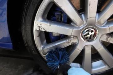 EZ Detail Brushes Auto-Rad- Reinigungsbürste - Fahrradbürste - Felgenbürste Waschbürste - 2