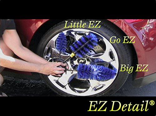 EZ Detail Brushes Auto-Rad- Reinigungsbürste - Fahrradbürste - Felgenbürste Waschbürste - 4