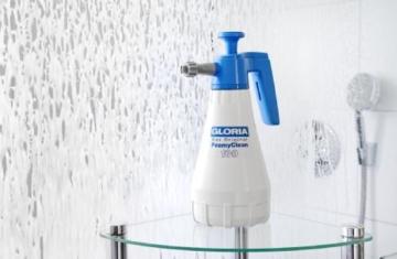 Gloria Drucksprüher Schaumsprüher FoamyClean 100 für KFZ,Fahrrad,Bad,Haushalt,Garten,Werkstatt, weiß - 4