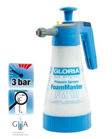 Gloria Drucksprüher Schaumsprühgerät 1 L FoamMaster FM10, weiß - 10