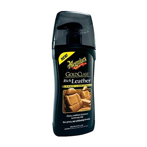 Meguiar's G17914EU Gold Class Rich Leather Cleaner/Conditioner, 400 ml - 1
