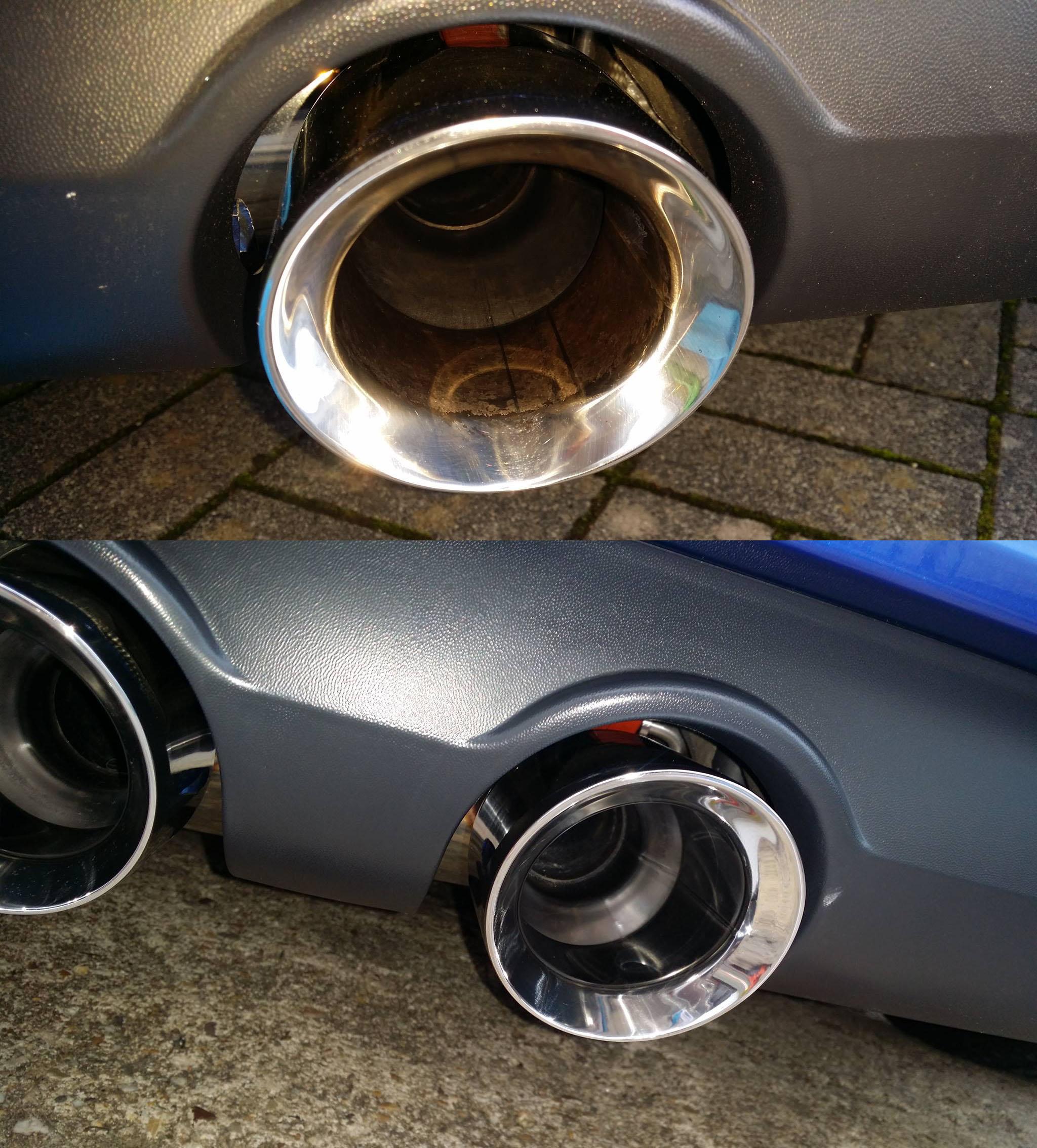 Berühmt Auto Chrom und Metallteile reinigen und pflegen | 83metoo NZ26
