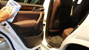 2er Set ALCLEAR Poliertücher 2-Seiten-Allrounder Premium ohne Hologramme, f. Auto Yachting & Poliermaschine, 40x40 cm blau - 8