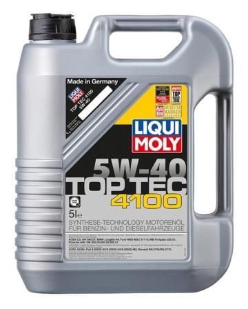 Liqui Moly 3701 Top Tec 4100 Motoröl, 5W-40