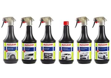 ALCLEAR 721FR Premium Auto Felgenreiniger für lackierte Alu- und Stahlfelgen, pH-neutral, 1.000 ml - 4