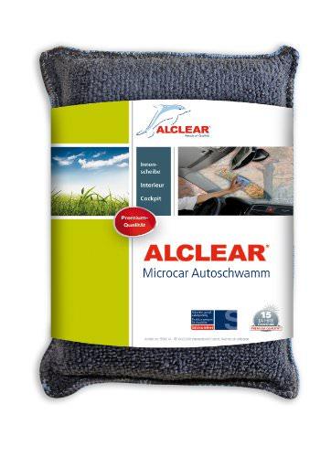 ALCLEAR 8201000 Profi Autopflegeset 4teilig bestehend aus Trockenwunder, 2-Seiten Allrounder, Felgenhandschuh sowie Microcar Autoschwamm - 5