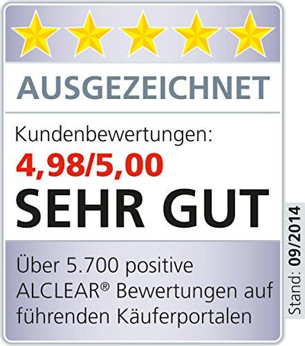 ALCLEAR 822203H Ultra-Microfasertuch Highspeed Poliertuch 40 x 40 cm grau - 3