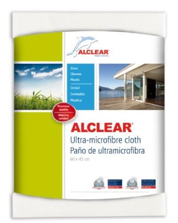 """ALCLEAR 950002 Ultra-Microfaser Fenstertuch Scheibentuch 60x45 cm weiß (bekannt als """"Das Wundertuch"""") - 1"""