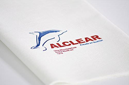 """ALCLEAR 950002 Ultra-Microfaser Fenstertuch Scheibentuch 60x45 cm weiß (bekannt als """"Das Wundertuch"""") - 6"""