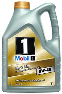 Mobil 1 New Life Motoröl 0W-40 5L - 1