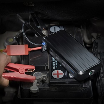 RAVPower Auto Starthilfe 500 A Spitzenstrom 12000mAh Batterie Ladegerät Tragbare USB Ladegerät Externer Akku - 5