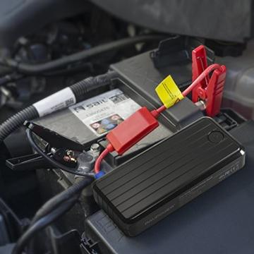 RAVPower Auto Starthilfe 500 A Spitzenstrom 12000mAh Batterie Ladegerät Tragbare USB Ladegerät Externer Akku - 6