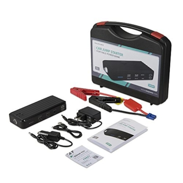 RAVPower Auto Starthilfe 500 A Spitzenstrom 12000mAh Batterie Ladegerät Tragbare USB Ladegerät Externer Akku - 9