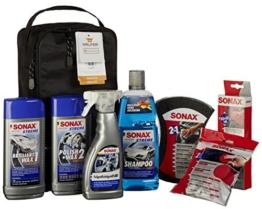 SONAX 761541 AutopflegeSet mit Tasche, 7 Teile - 1