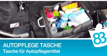 Autopflege Tasche