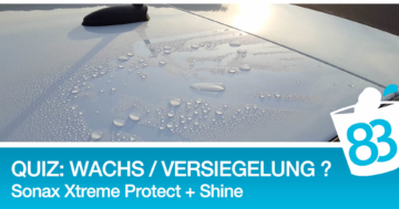 Sonax Xtreme Protect and Shine