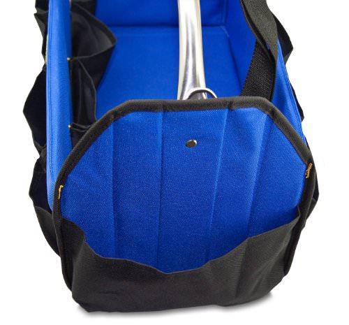 Petzoldts XXL Pflegetasche für Fahrzeugpflegemittel, Autopflege und Werkzeugtasche -