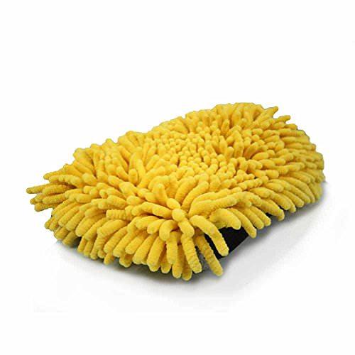 Chemical Guys 3 in 1 Premium Washmitt Waschhandschuh Mikrofaser Handschuh -