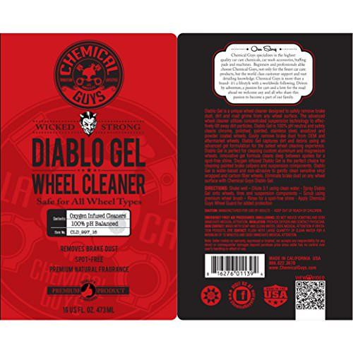 Chemical Guys Diablo Gel Wheel Cleaner Felgenreiniger 473ml -