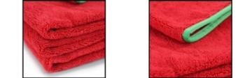 Chemical Guys Fluffer Rot Mikrofaser Poliertuch 60x40cm -