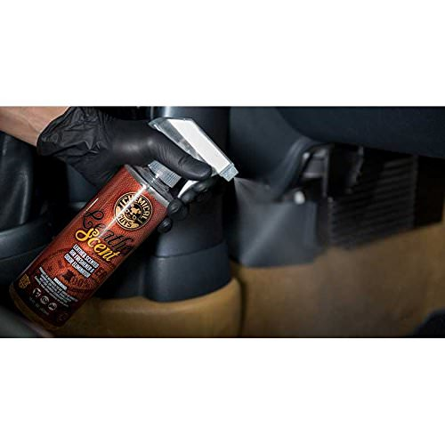 Chemical Guys Leather Scent Innenraumspray mit Lederduft -