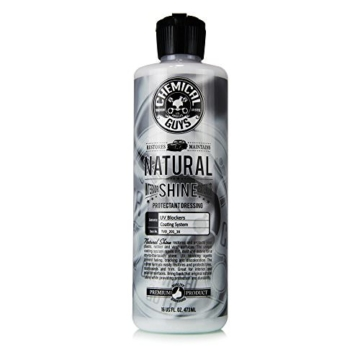 Chemical Guys Natural Shine Dressing 473ml Kunststoffpflege Seidenmatt -
