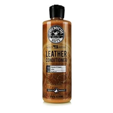 Chemical Guys Vintage Series Leather Conditioner 473ml Lederpflege Lederduft -