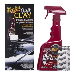 Meguiars Quik Clay Detailing System Reinigungsknete, 473ml + 50g -