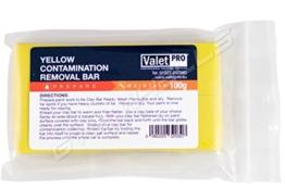 1 Stück ValetPRO Yellow Reinigungsknete 100g / Contamination / Removal / Clay / Bar / Reinigungsknete / Knete / 100g / Lack / Pflege / Lackoberflächen / Reinigungsmasse / Reinigungsmittel / entfernt Verschmuzung / ideal glatt / ValetPro / Made in UK / Leicht zu Kneten / ValetPro / Gelb / Reinigt den Lack / -