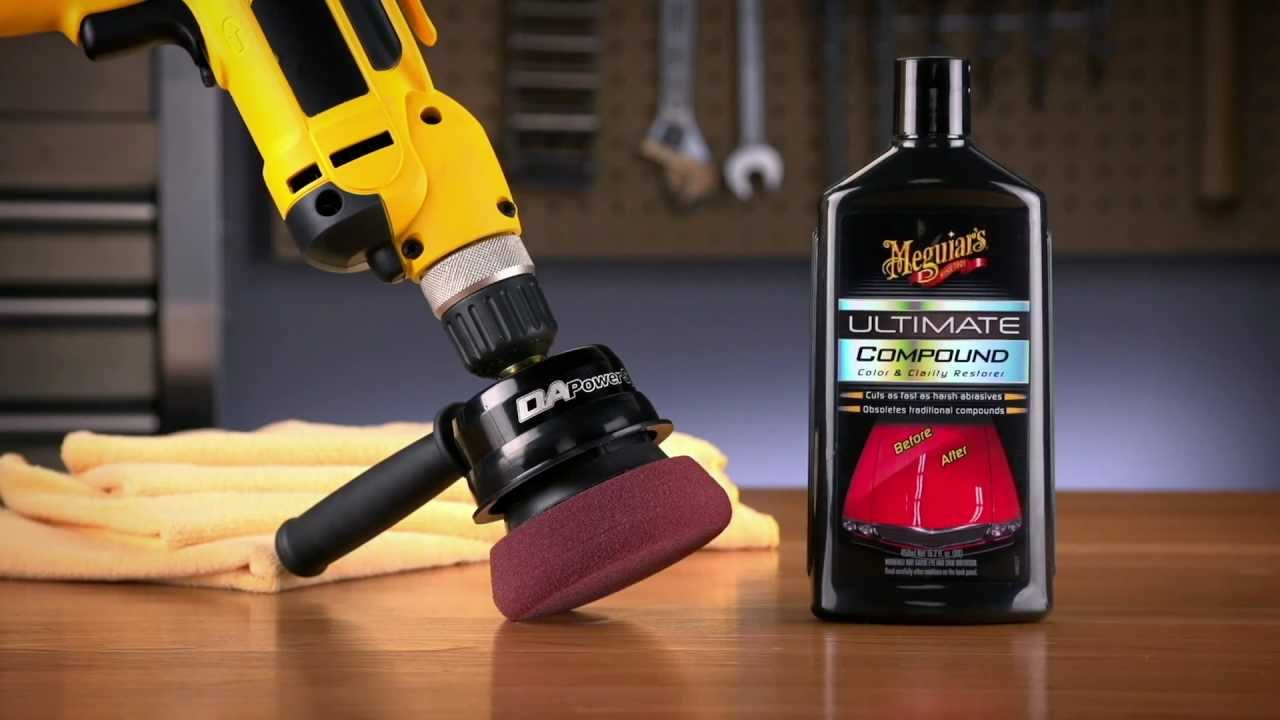 Meguiars Dual Action Polisher