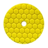 Chemical Guys Hex Logic Quantum Polierpad 5,5 inch (140mm) GELB - Heavy Cutting Schleifpad -