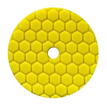 Chemical Guys Hex Logic Quantum Polierpad 5,5 inch (140mm) GELB - Heavy Cutting Schleifpad -