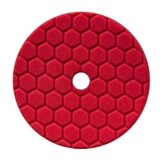 Chemical Guys Hex Logic Quantum Polierpad 5,5 inch (140mm) ROT - Finishpad - Polierpad -