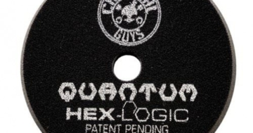 Chemical Guys Hex Logic Quantum Polierpad 5,5 inch (140mm) Schwarz - Finishing Polierpad -