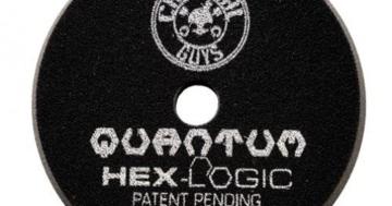 Chemical Guys Hex Logic Quantum Polierpad 5,5 inch (140mm) Schwarz - Finishing Polierpad -