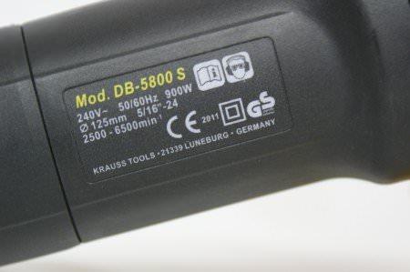 Krauss Exzenterpoliermaschine DB-5800S mit Cruise Control -