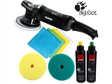 RUPES Poliermaschine LHR 21 Mark 2 II / 1 Stk. Big Foot Exzenter Polisher im Standard Set -