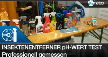 Insektenentferner pH-Wert