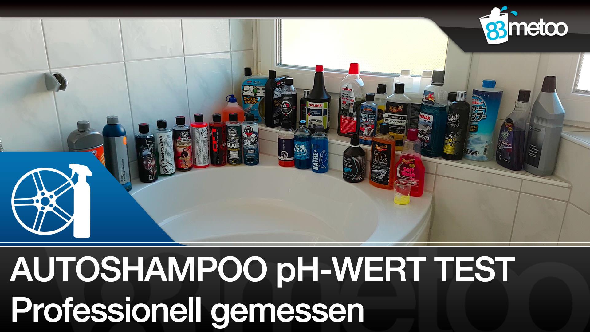 Autoshampoo pH-Wert