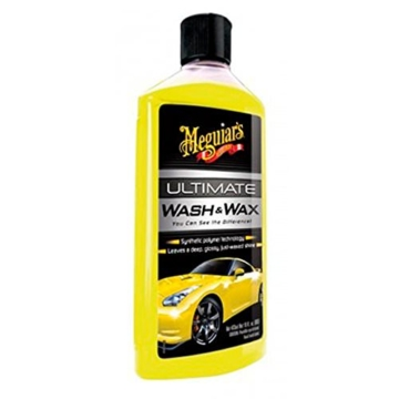 Meguiar´s G17716 Ultimate Wash und Wax Autoshampoo, 473 ml -