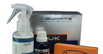 CarPro Cquartz UK-Edition Ceramic Paint Protection Kit Pack/Versiegelung -