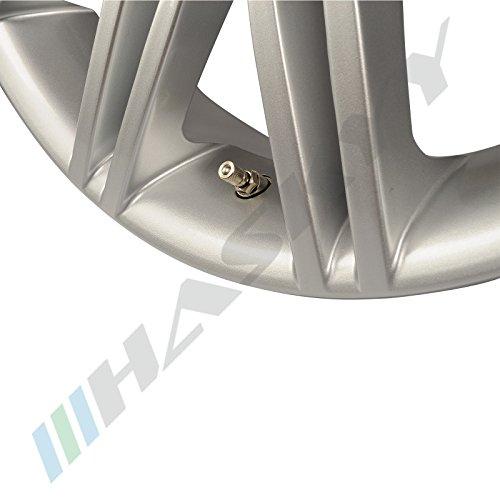4 x Silber Metallventile Stahlventile Universal Felgenventile 11,3 mm NEU -