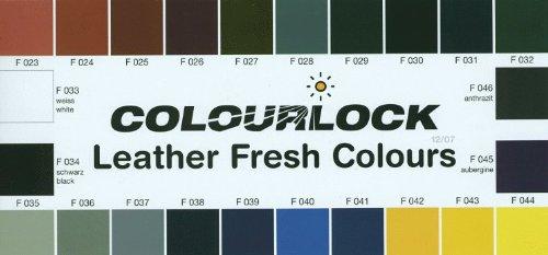 COLOURLOCK Glattleder Nachtönungs- und Pflegeset mild Farbe F034 -
