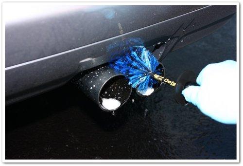 EZ Detail Brushes Klein Detail Auto-Rad Reinigungsbürste, Fahrradbürste, Felgenbürste Waschbürste -