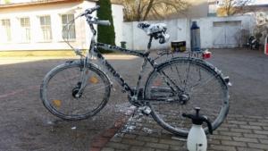 Fahrrad zu Hause waschen erlaubt