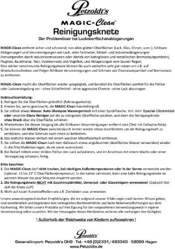 Reinigungsknete-Gleitmittel Set, zur schonenden Lackreinigung, Petzoldts - 5