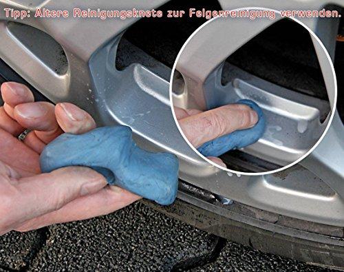 Reinigungsknete-Gleitmittel Set, zur schonenden Lackreinigung, Petzoldts - 8