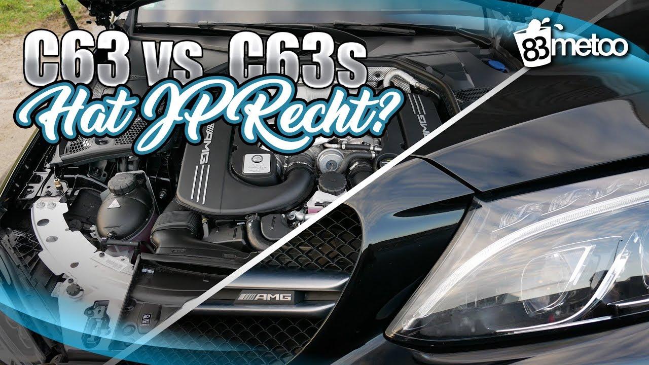AMG C63 oder C63s Unterschied _ Hat JP Performance Recht und lohnt der höhere Preis_ (BQ)